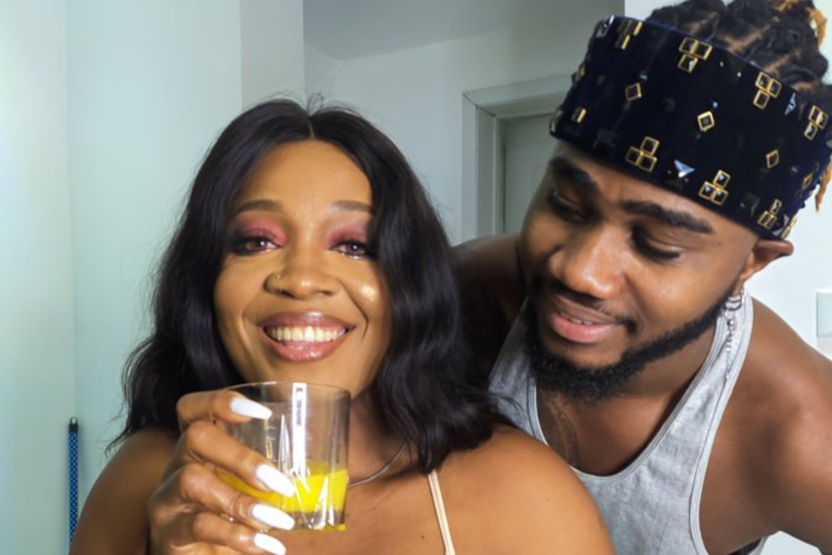 BBNaija 2020 - Lucy And Praise's Cozy Photo Sparks Relationship Rumour