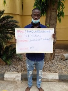 Ilorin Court to sentence 21-year-old internet fraud suspect over $950 scam (Photo)