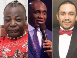 Oyedepo: I'll make you my assignment – Charly Boy attacks Pastor Ibiyeomie