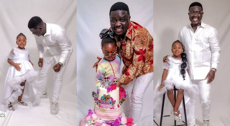 Seyi Law marks daughter's 4th birthday
