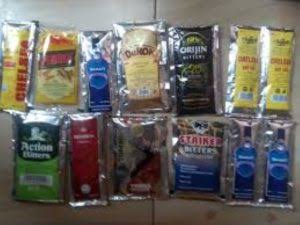 Alcohol in sachets and small polythene face ban by FG
