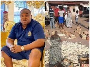 Cubana Chief Priest Rescues Poultry Farmer Who Lost 2,000 Birds to TaskForce In Owerri