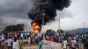 Over 30 people killed, as tanker collides with Keke Napep in Kogi