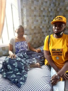 Update: 200 level Tai Solarin University student stabbed by her boyfriend, survived and is currently receiving treatment (Photos)