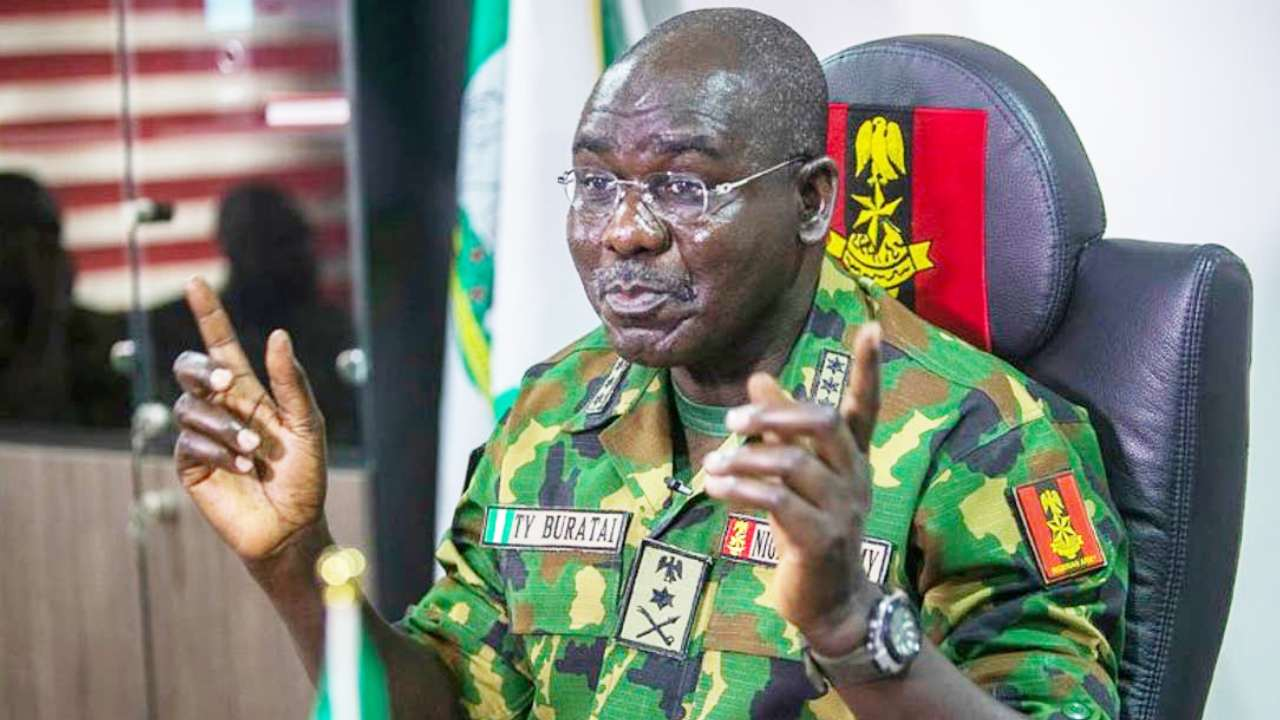 Those threatening us with travel ban are criminals - Buratai