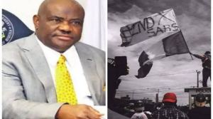 #EndSARS protest in Port Harcourt despite Wike's order