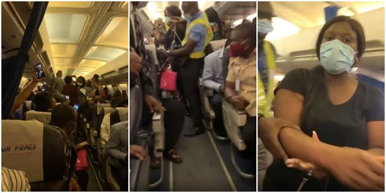 The expensive handbag that stopped Airpeace from flying (Video)