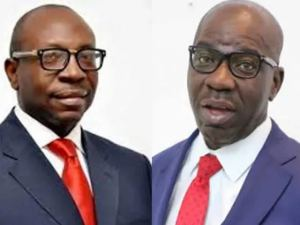Edo election: Ize-Iyamu considers dragging Obaseki to court