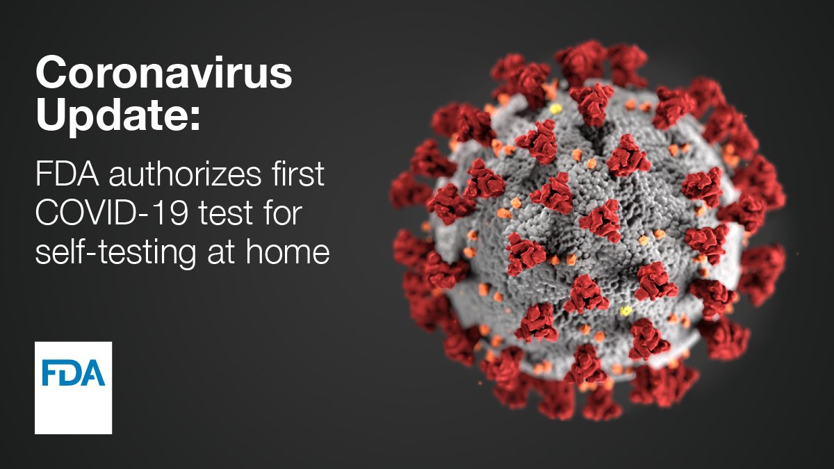 Coronavirus: US approves first self-testing kit, results at home within 30 minutes