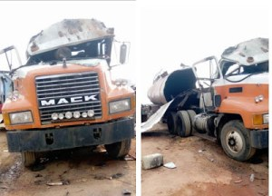 One dead as fuel tanker explodes in Anambra