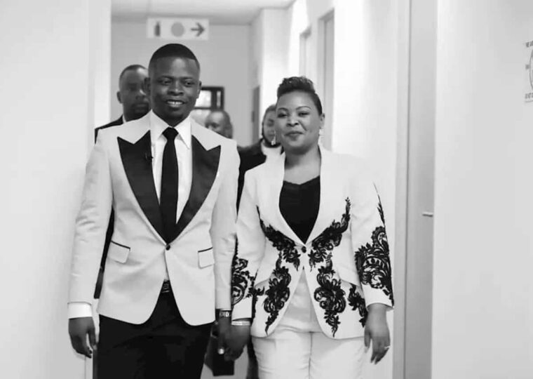 Prophet Bushiri and wife, Mary