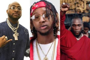 Yung6ix pleads with Davido and Burna Boy to end their feud.. says loyal fans might take it to the next level