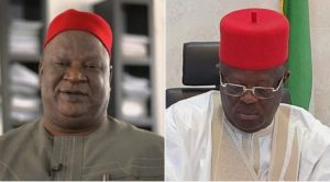 Umahi wants to kill me, he needs human blood – Anyim reports Gov to Buhari