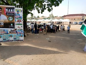 Heavy gunshots as NANS convention in Abuja turns bloody, many injured (Video)