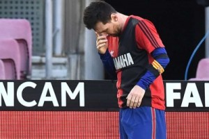 Messi yellow card for Diego Maradona tribute should be overturned, says Barcelona boss