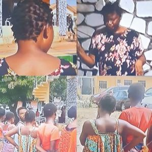 Police arrest mother of nine for allegedly operating baby factory in Ogun (Photos)