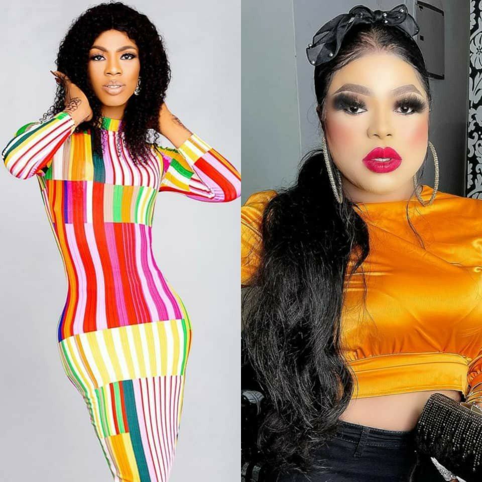 , Bobrisky reacts as James Brown's Instagram page gets deactivated few hours after their clash, Effiezy - Top Nigerian News & Entertainment Website
