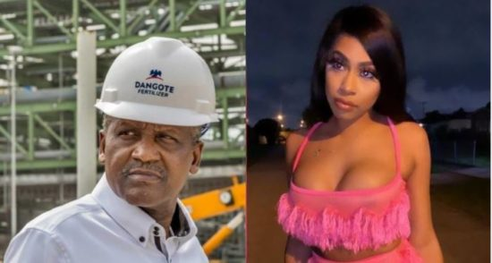 , You offered me N1m every month to keep my mouth shut – Dangote's Mistress fires back after lawsuit, Effiezy - Top Nigerian News & Entertainment Website