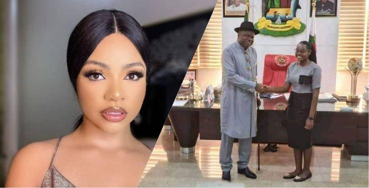 , Gov. Diri removes Nengi as face of Bayelsa, replaces with first class graduate Blessing Eradiri, Effiezy - Top Nigerian News & Entertainment Website