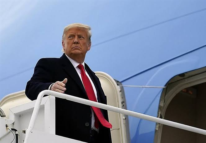 , Trump to leave town early wednesday before Biden inauguration, Effiezy - Top Nigerian News & Entertainment Website