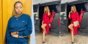 Fans of popular Nollywood actress, Regina Daniels shown concern over billionaire's wife weight loss (photos)