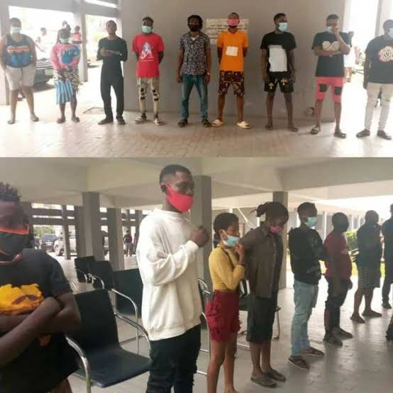 , Court Sentence 17 to Community Service for violating of COVID-19 Protocols, Effiezy - Top Nigerian News & Entertainment Website