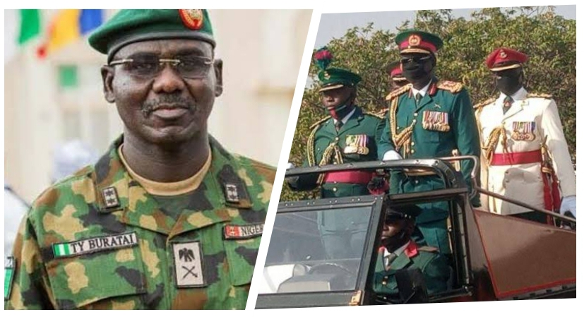 , Buratai pulls out of Nigerian Army, Effiezy - Top Nigerian News & Entertainment Website