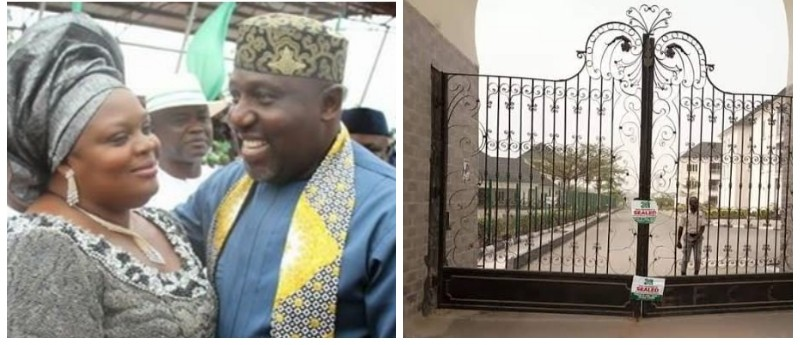 , Imo seizes Okorocha's wife royal palm estate, Effiezy - Top Nigerian News & Entertainment Website
