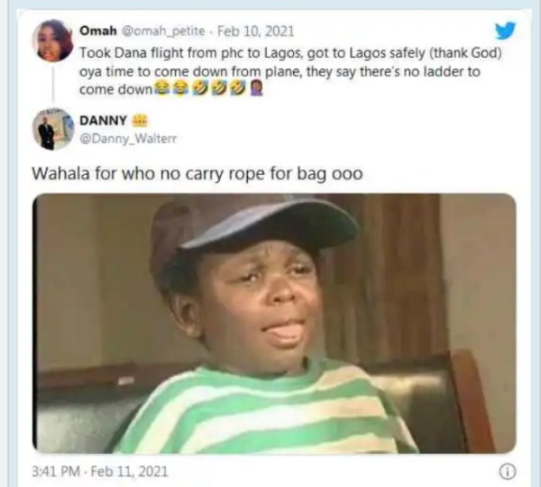 , Drama at Lagos airport as airline says there's no ladder for passengers to alight from plane, Effiezy - Top Nigerian News & Entertainment Website