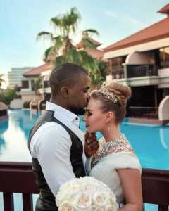 White lady shares how she fell in love, married a Nigerian man she met on Instagram (Video)