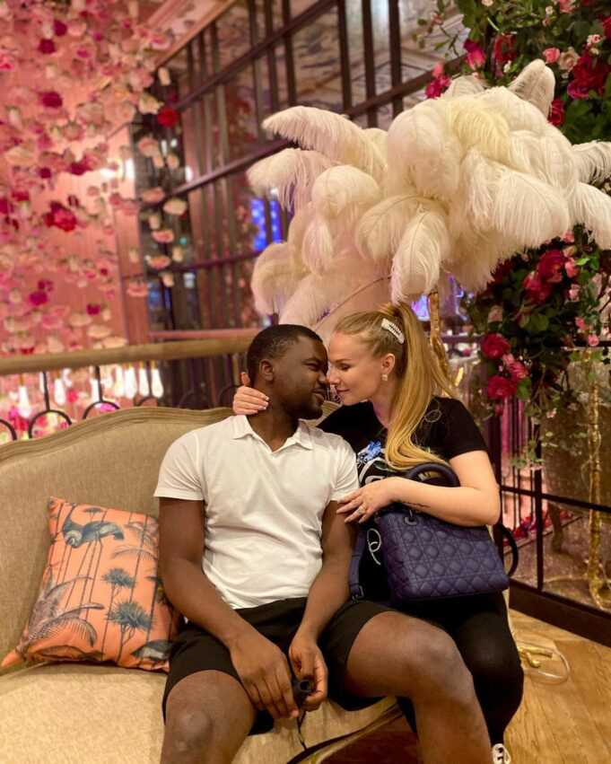 White lady shares how she fell in love, married a Nigerian man she met on Instagram (Video), White lady shares how she fell in love, married a Nigerian man she met on Instagram (Video), Effiezy - Top Nigerian News & Entertainment Website