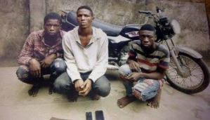 Suspected armed robbery gang gets arrested, reveal ridiculous amount they sell stolen Okada