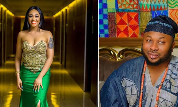 Tonto Dikeh's Ex-husband, Olakunle Churchill reveals Rosaline Meurer as his new wife