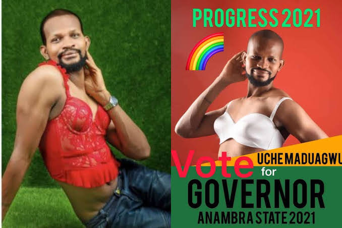 """""""Let's make Anambra great"""" – Actor, Uche Maduagwu joins Anambra governorship race"""