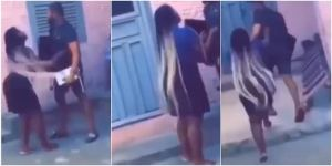Angry boyfriend take back his tv and decoder after break up with girlfriend