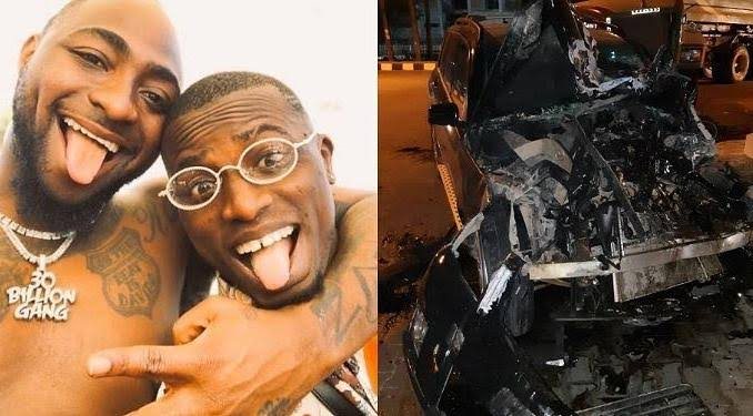 Davido's former PA, Aloma DMW survives ghastly accident