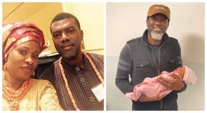 Reno Omokri welcomes 4th child, names her after Ex-President Goodluck Ebele Jonathan