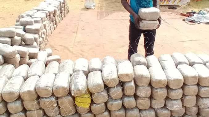 Cannabis warehouse, truck busted by NDLEA