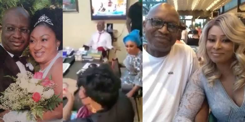 , Wife from US fights sidechic inside DPO's office while the husband watches (video), Effiezy - Top Nigerian News & Entertainment Website