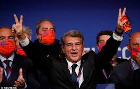 , Joan Laporta confirmed as new Barcelona president, Effiezy - Top Nigerian News & Entertainment Website
