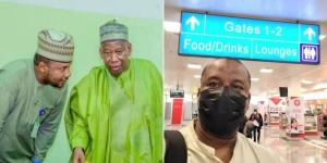 , Goodbye Naija! Sacked Ganduje's aide relocates abroad, Effiezy - Top Nigerian News & Entertainment Website