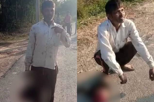 Father cuts off 17-year-old daughter's head and carries it through the streets because he did not approve of her boyfriend