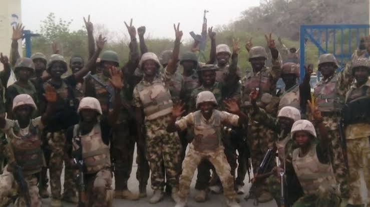 , Nigerian military retakes Borno town from Boko Haram terrorists, Effiezy - Top Nigerian News & Entertainment Website
