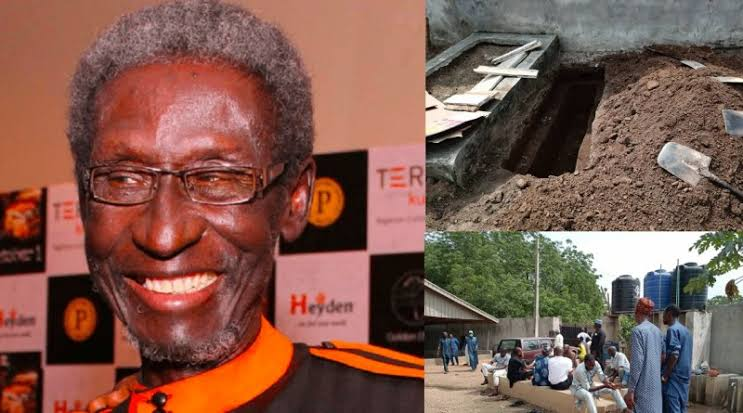 , Veteran Nollywood actor, Sadiq Daba, laid to rest, Effiezy - Top Nigerian News & Entertainment Website