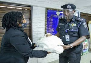Lagos Police Commissioner, Odumosu to adopt rescued baby