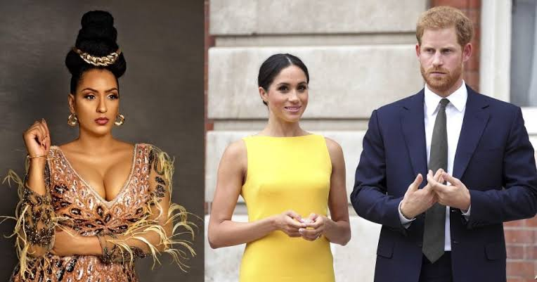 , Juliet Ibrahim hails Prince Harry for standing by Meghan Markle, Effiezy - Top Nigerian News & Entertainment Website