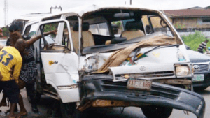 2 killed, 10 injured in Lagos-Abeokuta Expressway bus crash blamed on speeding, mobile phone use