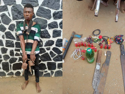 Cultist, Wanted Lagos serial killer and cultist arrested, Effiezy - Top Nigerian News & Entertainment Website