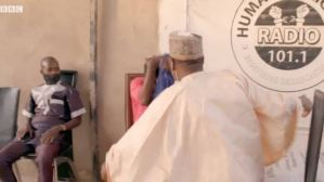 Ahmed Isah of Brekete radio, slaps woman who set her niece on fire during an interview (Video)