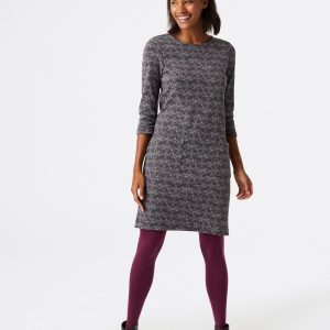white stuff grey jersey dress